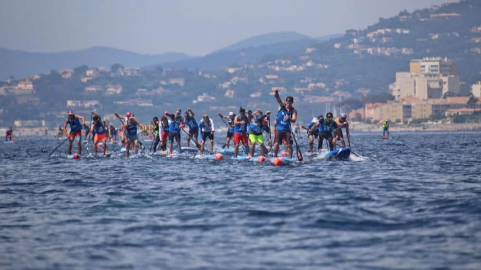 Euro Tour stand up paddle 2016 à St Maxime