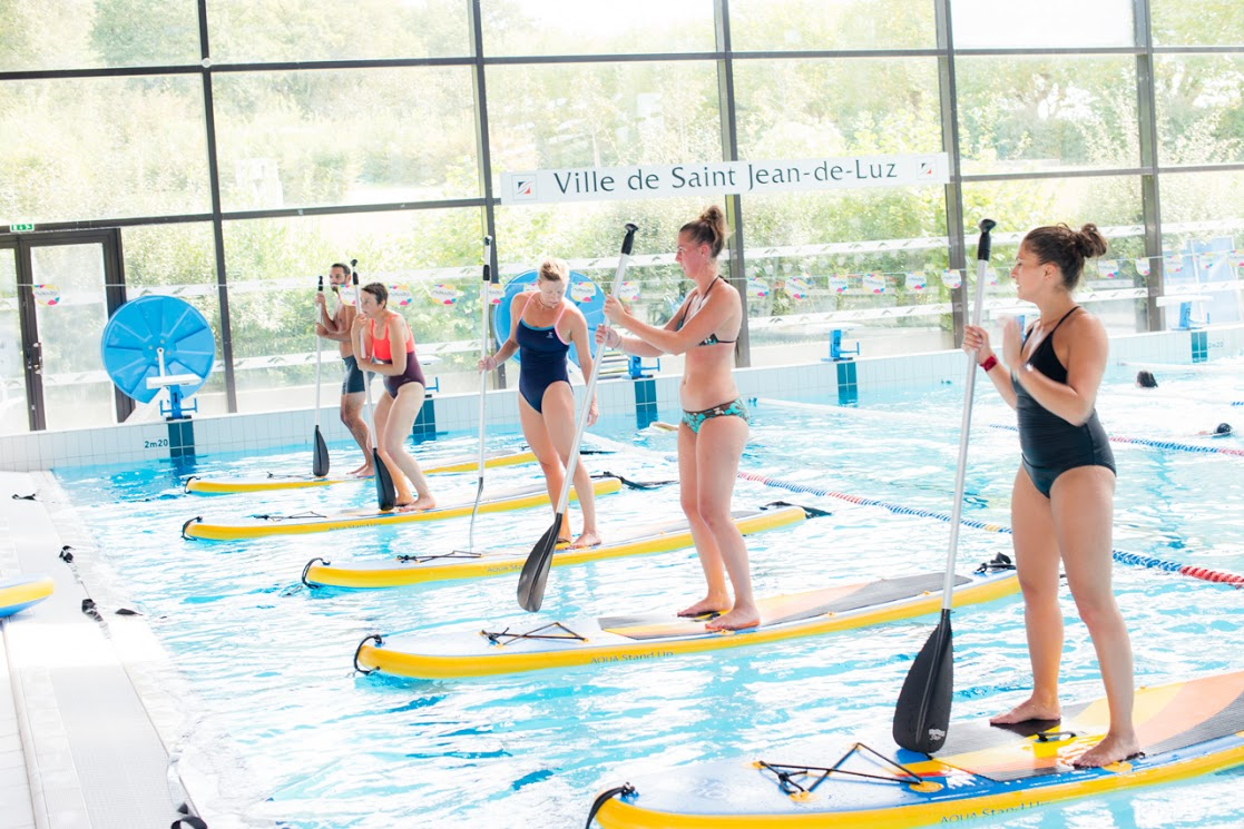 L'aqua Stand Up, du stand up paddle en piscine