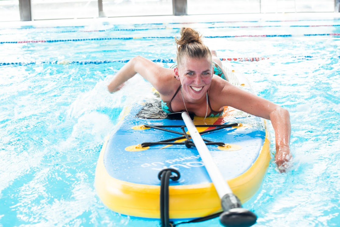 L'aqua Stand Up, du stand up paddle en piscine