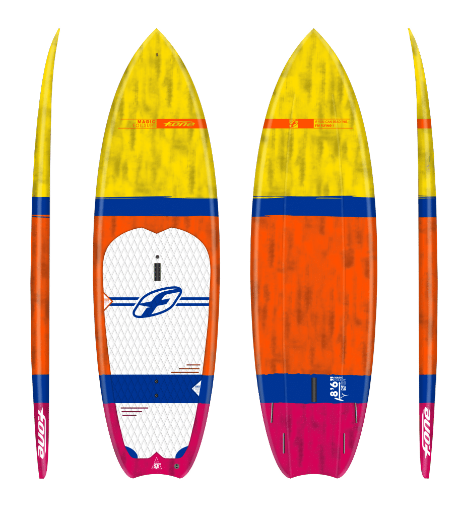 Les SUP de surf de vagues : la MAGIC