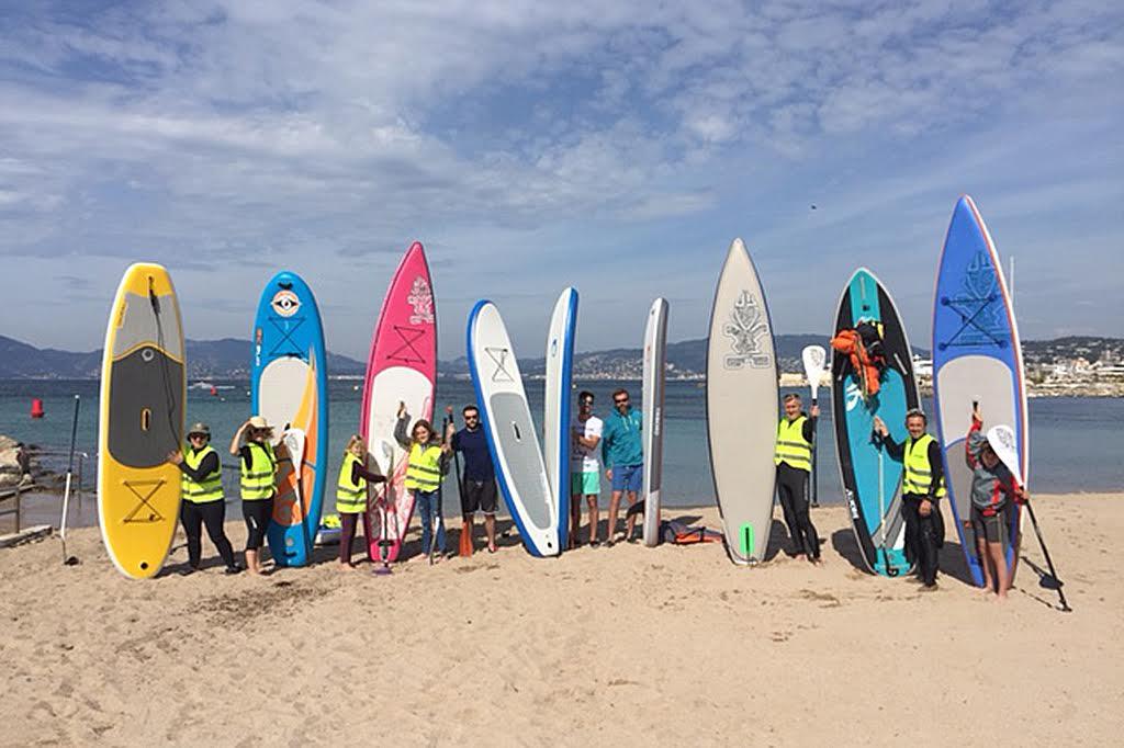 Opérations Protection des Iles du Lérins en paddle