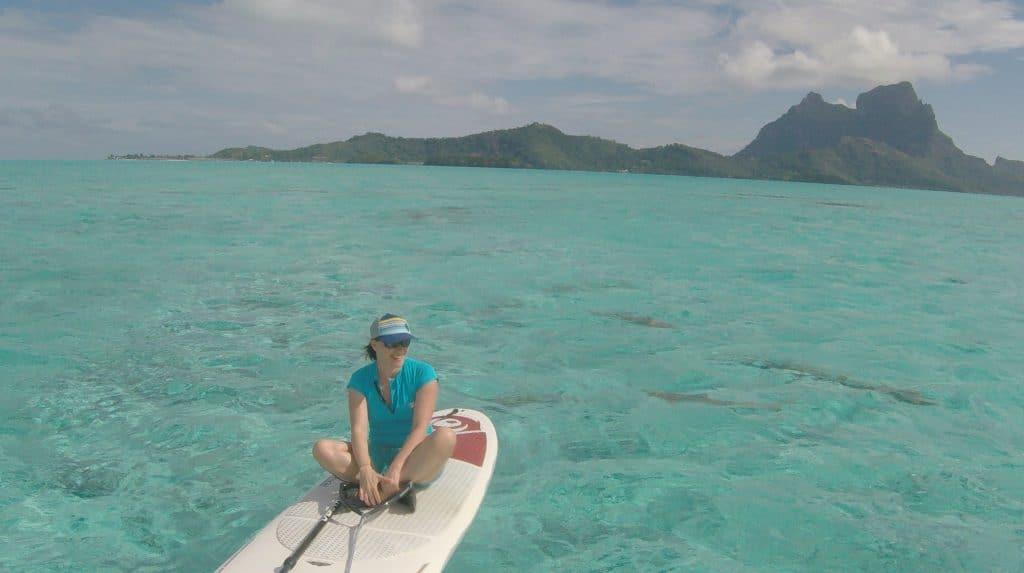 bora bora stand up paddle