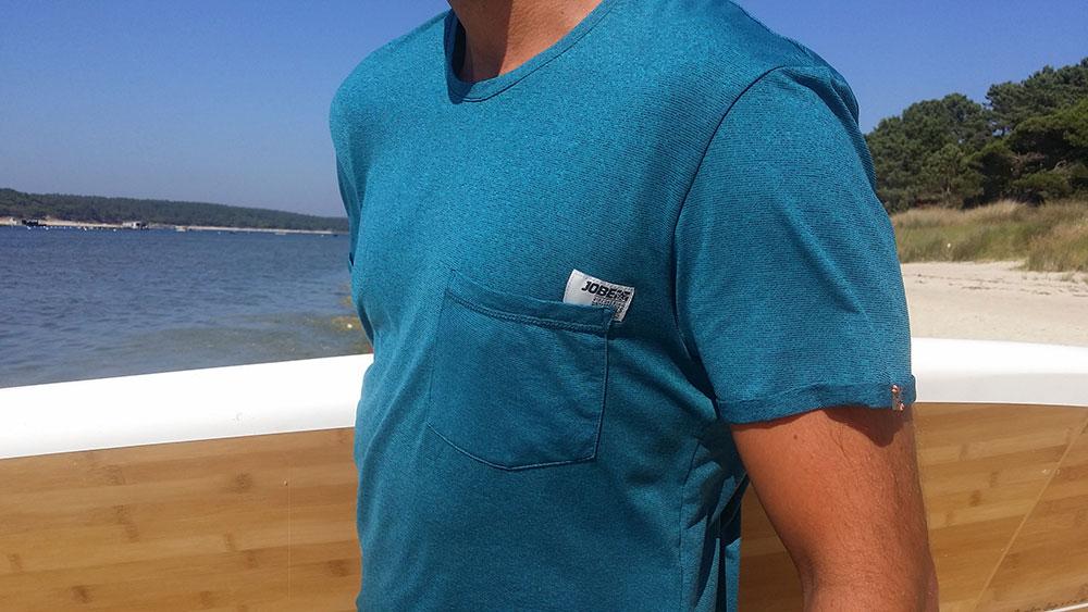 Haut Discover T-shirt Men Teal 1