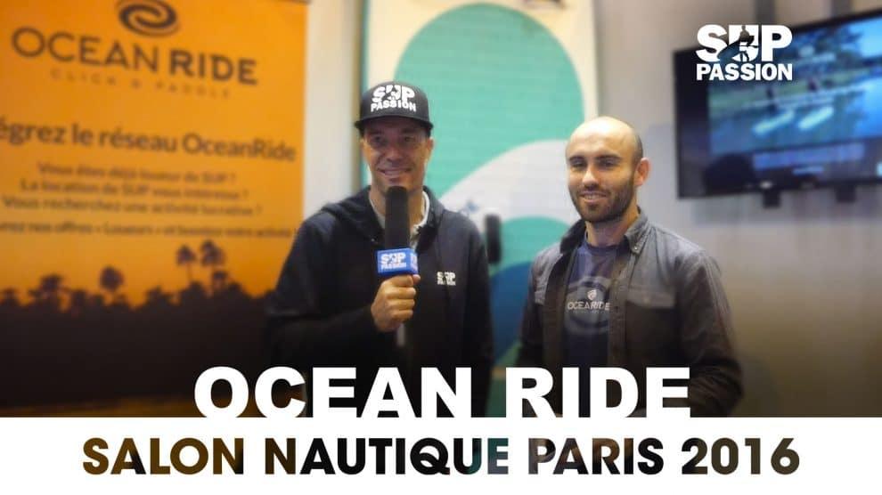 Rencontre avec OceanRide au Salon Nautique de Paris 2016