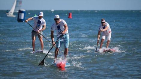 La Collioure Arena Race, étape de l'Oxbow Sup Challenge