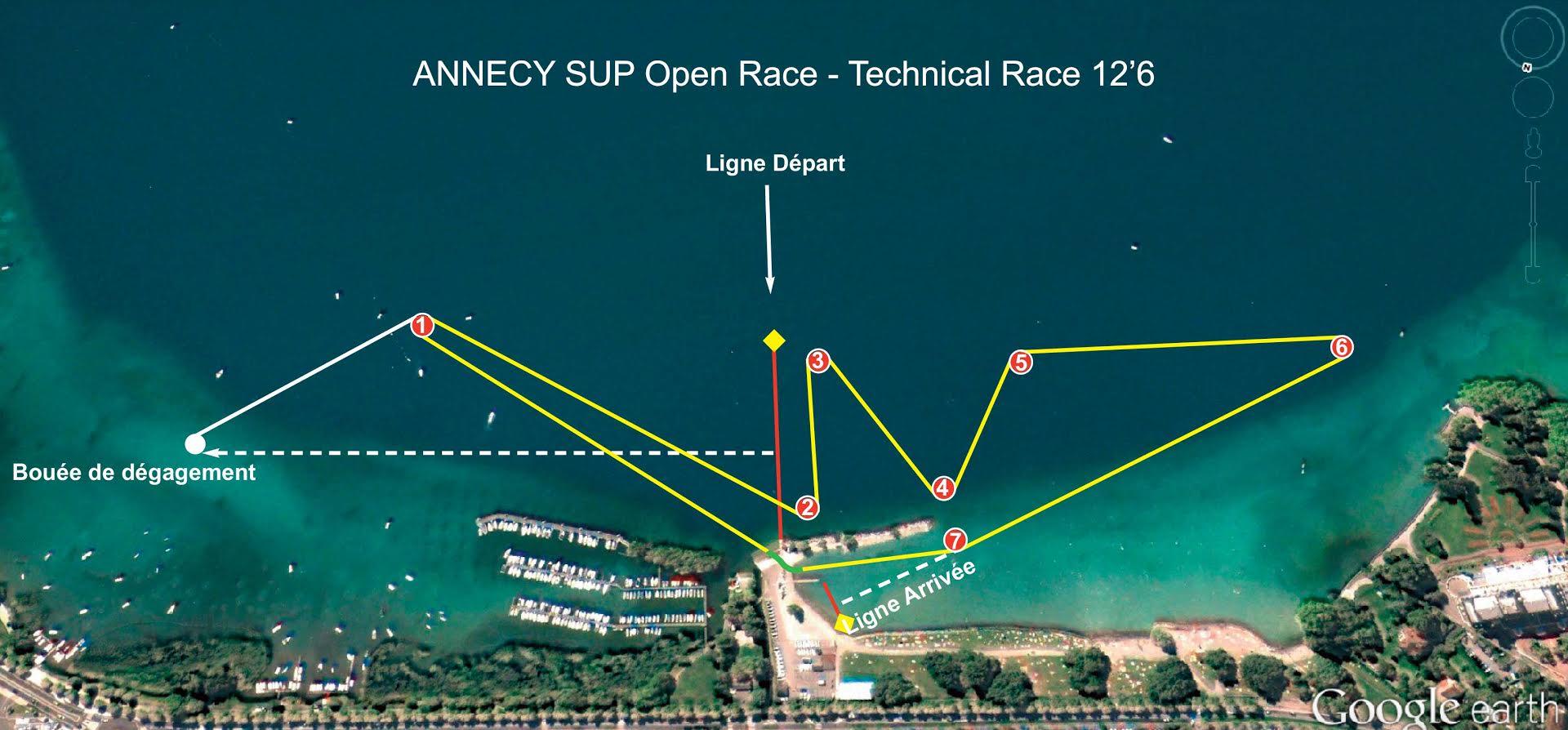 5ème édition du Sup Open Race du Lac d'Annecy 24 et 25 septembre