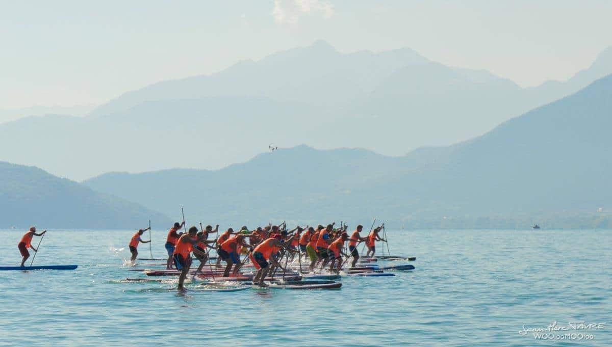 Tout savoir sur le 5ème Sup Open Race du Lac d'Annecy