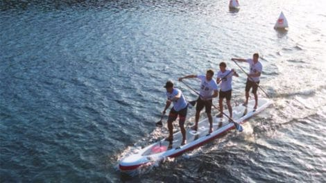 Le Dragon stand up paddle de chez RedPaddle Co