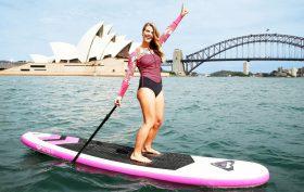 Découvrez les stand up paddle gonflables Roxy et Quiksilver