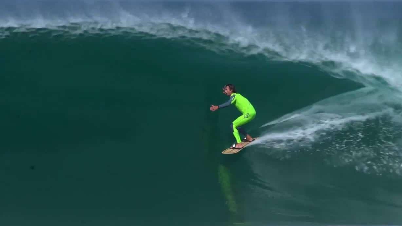 Vidéo exclusive de Fred Compagnon sur la vague de la Gravière