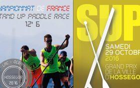 Championnat de France de stand up paddle race à Hossegor