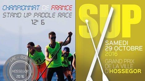 La ville d'Hossegor accueillera les 29, 30, 31 octobre et 1er novembre 2016 les Championnats de France de stand up paddle race 12'6.