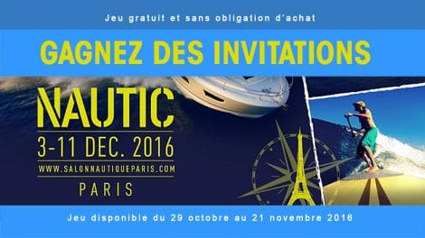 Gagnez des places pour le Salon Nautique Paris 2016