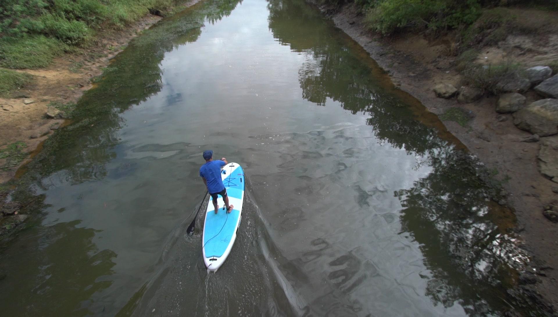 "Nous avons testé le stand up paddle Big Fct 10'3"" d'Anonym"