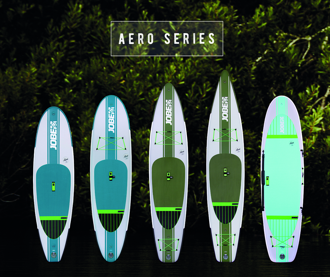 Découvrez la nouvelle collection 2017 de stand up paddle Jobe Sport