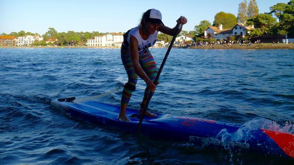 Titouan Puyo et Olivia Piana, champions sur le lac d'Hossegor