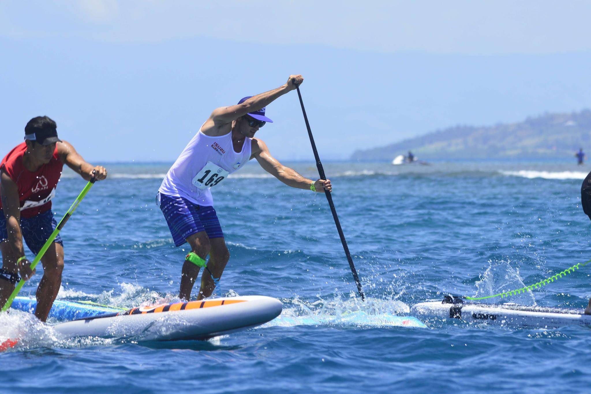Titouan Puyo vice-champion du monde de sup longue distance