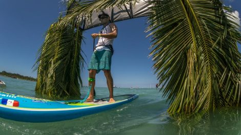 Titouan Puyo vice-champion du monde de stand up paddle longue distance