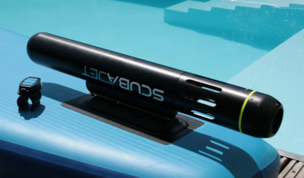 Scubajet, un mini moteur électrique pour votre stand up paddle