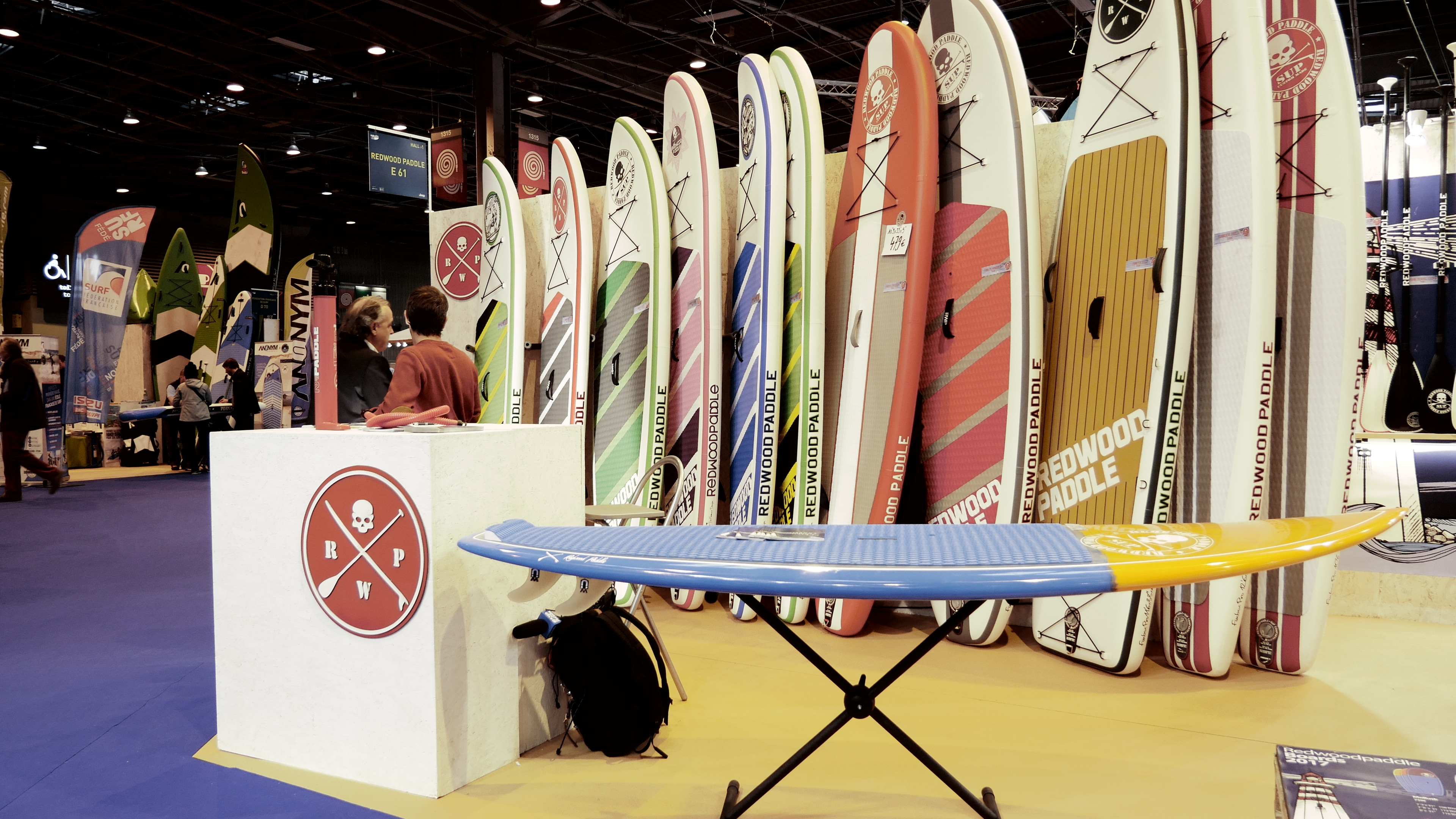 Redwoodpaddle - Salon Nautique Paris 2016 - Sup Passion