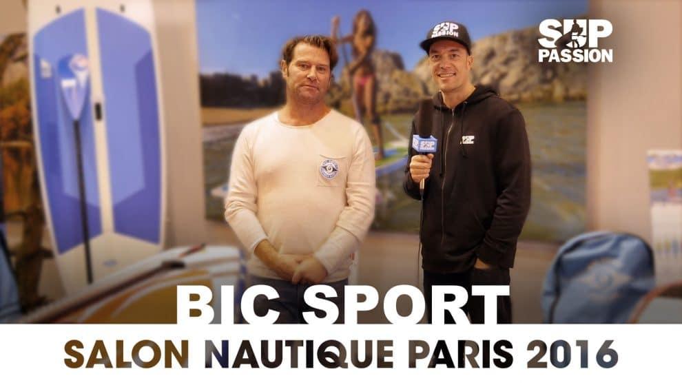 Les nouveautés Bic Sport au Salon Nautique de Paris 2016