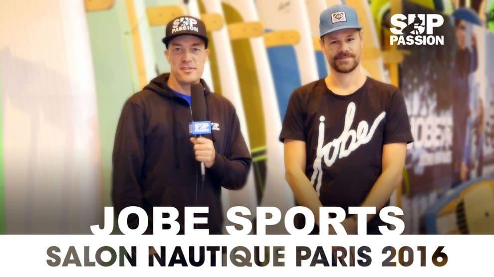 Tous savoir sur Jobe Sports au Salon Nautique de Paris 2016