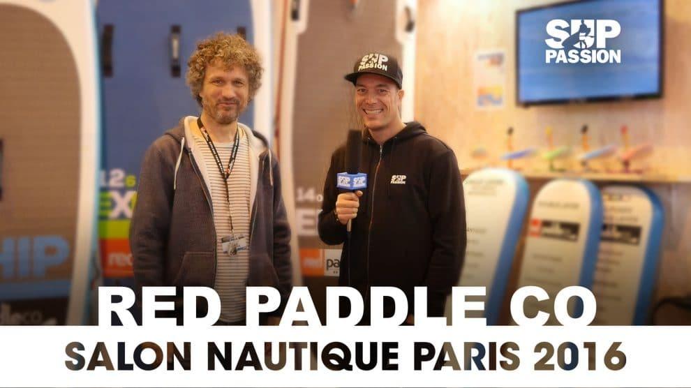 Les nouveautés Red Paddle Co au Salon Nautique de Paris 2016