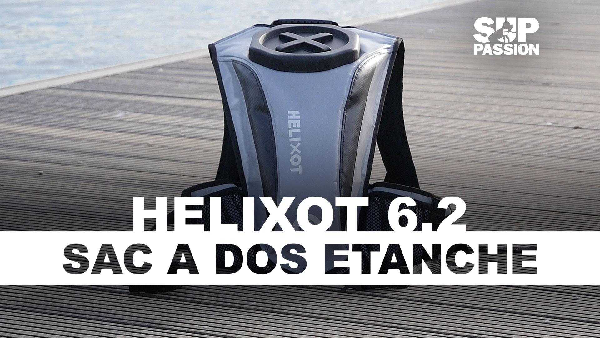 Helixot XO 6.2, un sac étanche et submersible pour la pratique du sup
