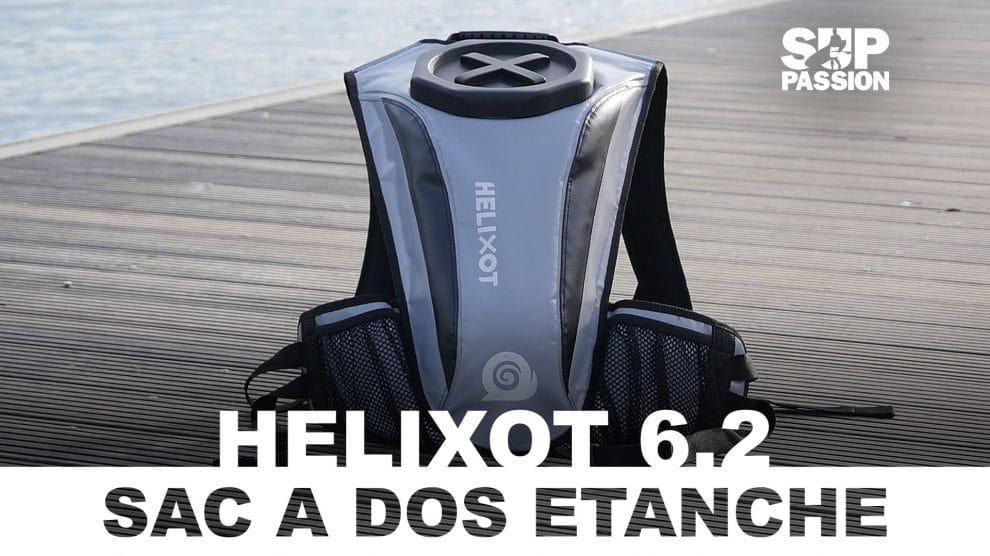 Helixot XO 6.2, un sac étanche et submersible pour la pratique du stand up paddle