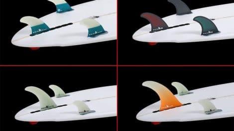 Petits ou grands ailerons pour plus de stabilité en stand up paddle ?