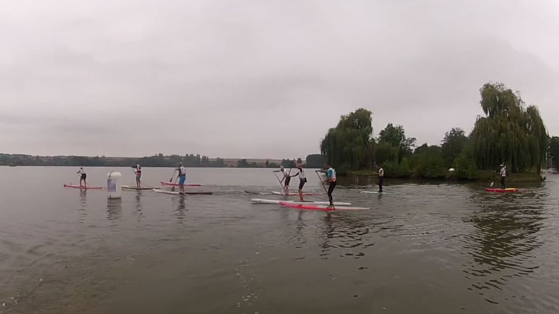 La course de stand up paddle Beach Race Paddle CND
