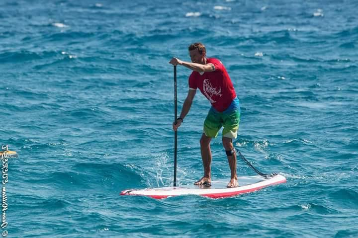 Eco-sup-trip de l'aventurier Gilles Mathieu à travers l'Europe