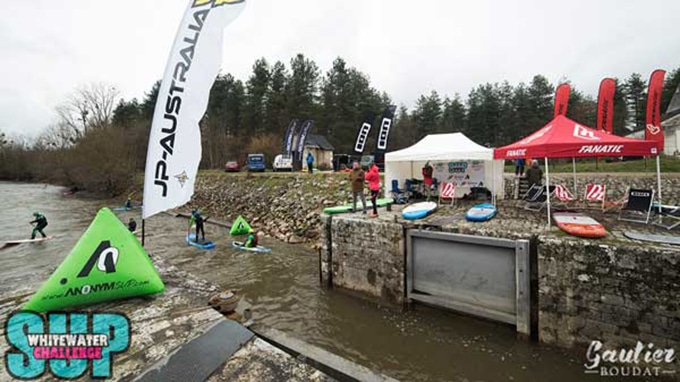 Whitewater Sup Challenge, du stand up paddle cross dans le Cher