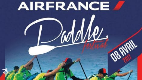 4ème édition de l'Air France Paddle Festival de Tahiti