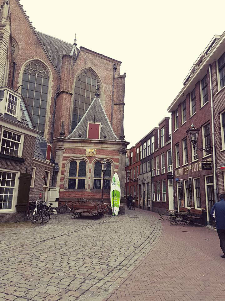 Pourquoi pas faire du stand up paddle aux Pays-Bas