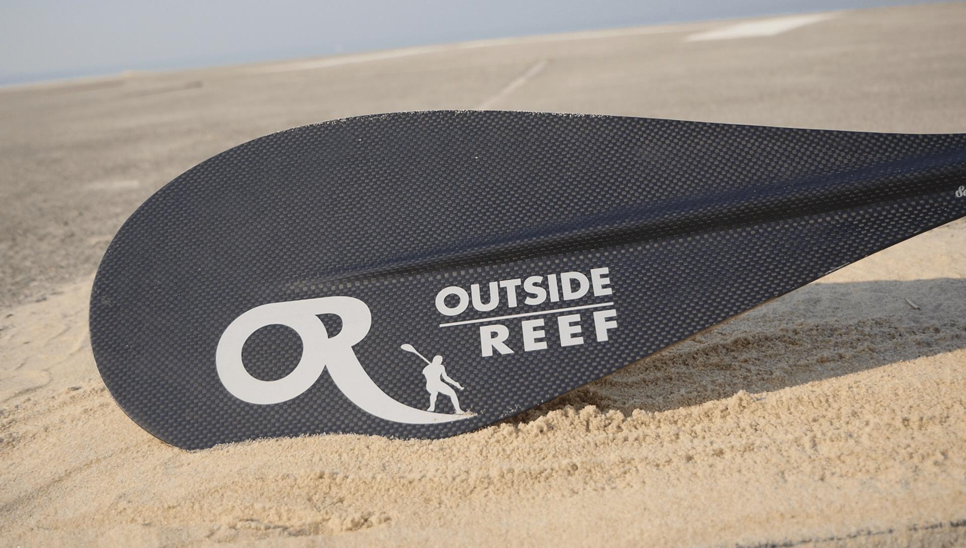 Pagaie de stand up paddle Session de la marque Outside Reef