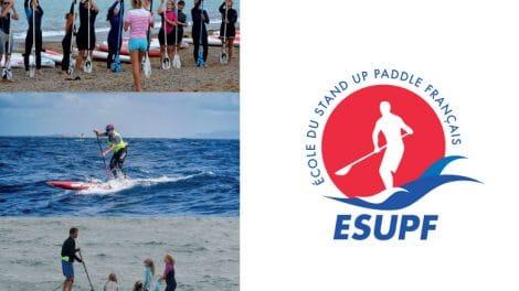Création d'ESUPF, l'école du stand up paddle français !