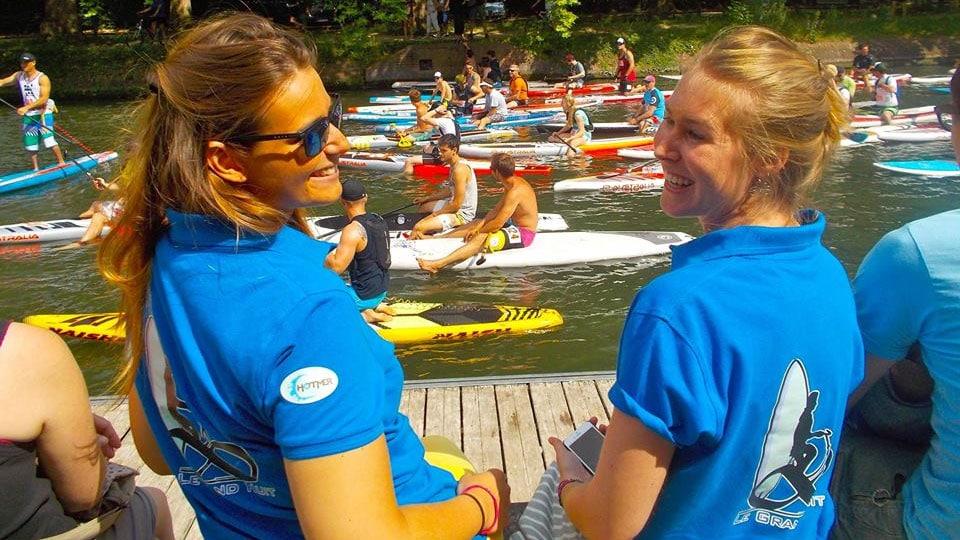 L'eau vive, Coupe de France de stand up paddle à Joinville-le-Pont