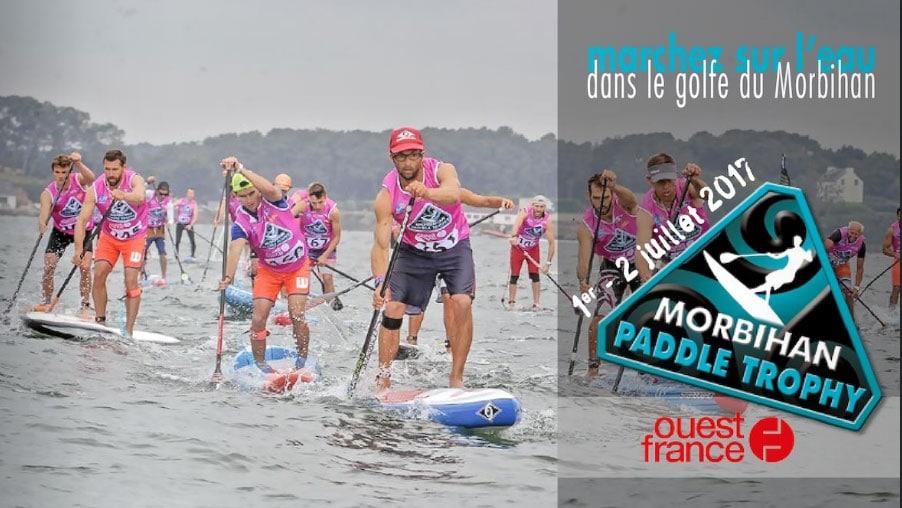Le Morbihan Paddle Trophy Ouest-France début juillet 2017