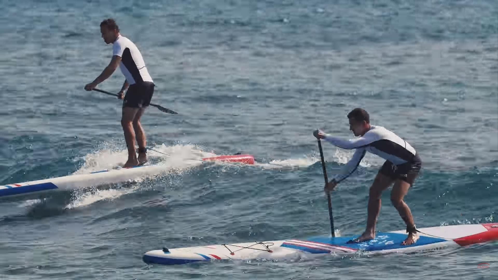 Vidéo stand up paddle des frères Teulades aux Canaries