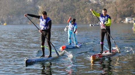Pop Race stand up paddle le 11 juin 2017 sur le lac d'Annecy