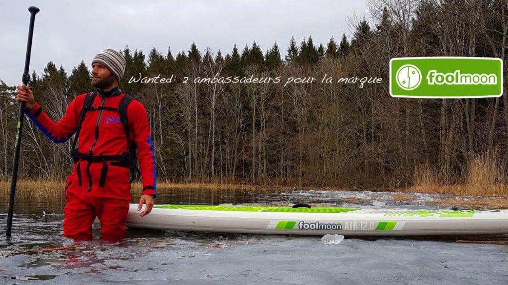 La marque de stand up paddle FoolMoon recherche de deux riders passionnés
