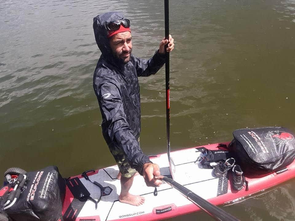 Notre Sup Addict Manu Faure va descendre la Yukon River en Sup
