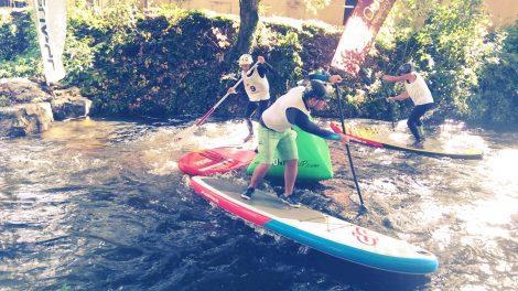 3ème édition de la Dordogne Paddle Race en Sup Rivière