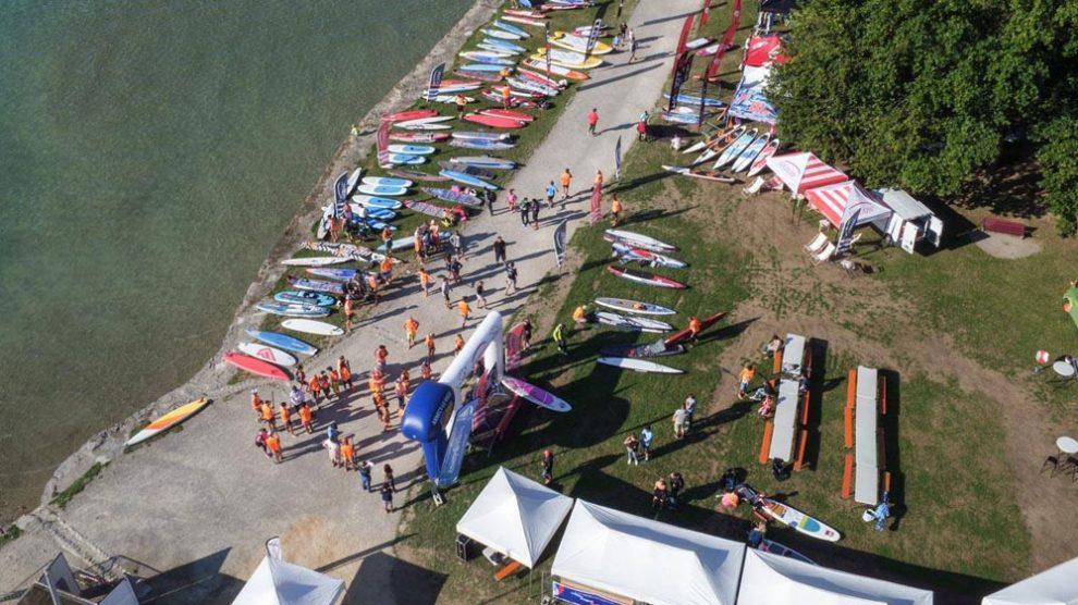 6ème stand up paddle Open Race du Lac d'Annecy