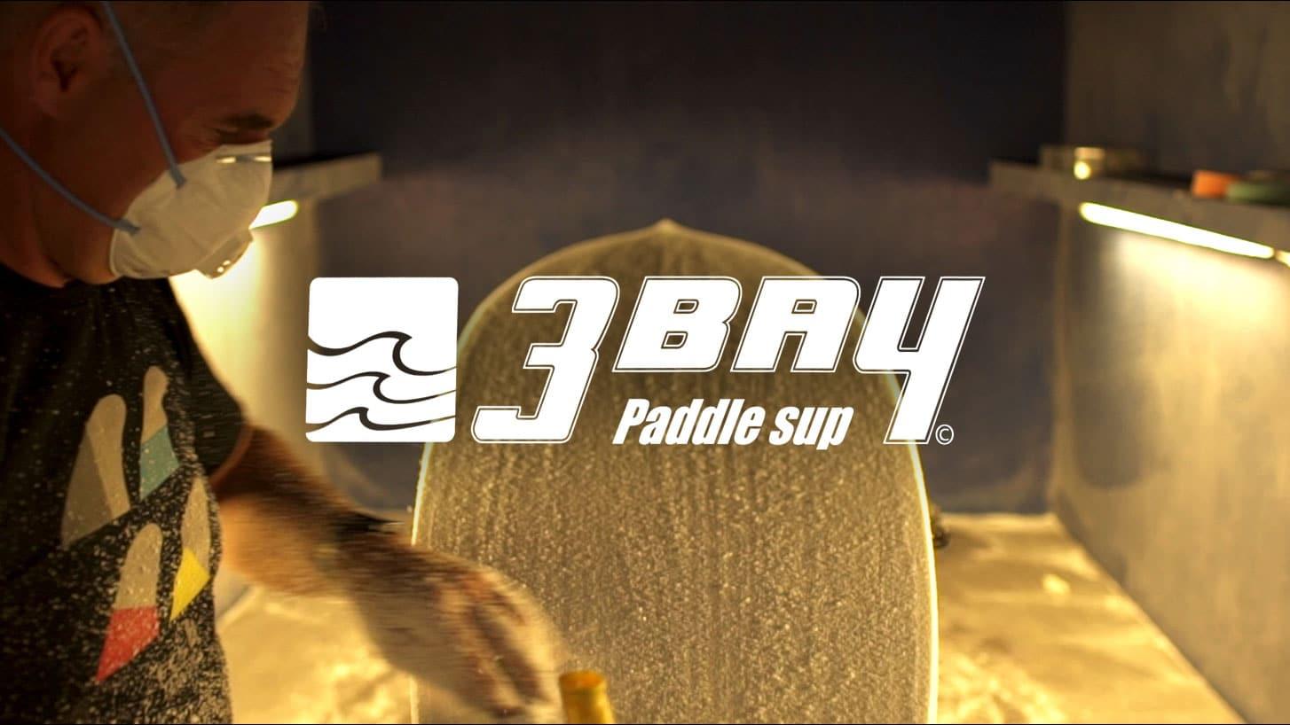 Découvrez l'atelier de shape 3 Bay Paddle Sup en vidéo