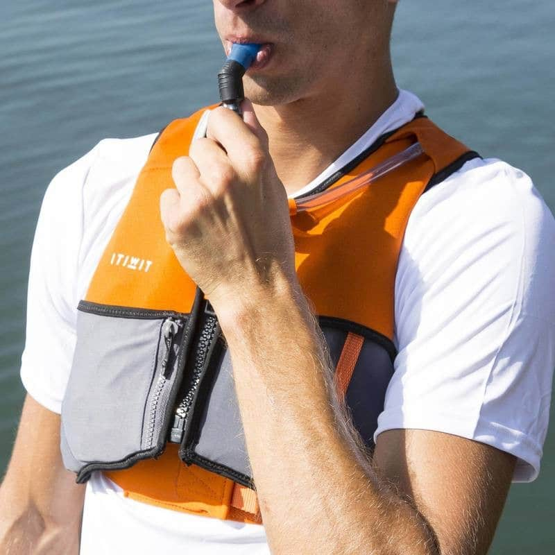 Gilet d'aide à la flottabilité Wargo Hydra de Décathlon