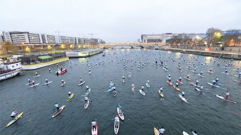 Nautic Sup Paris Crossing et Salon Nautique de Paris 2017