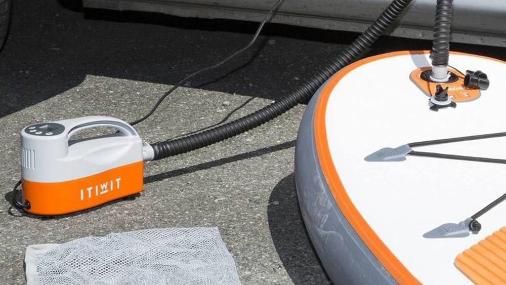 Nouvelle pompe électrique Itiwit pour stand up paddle