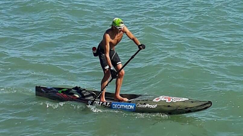 Record du tour de l'Ile de Ré en stand up paddle
